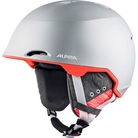 Alpina Maroi Helm, silver-flamingo matt